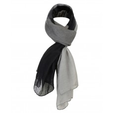 Ladies Glitter Scarf in Black-Grey