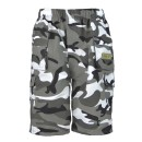 Boys Multipocket shorts in Camo Grey