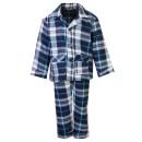 Kids Fleece Pyjama Set in Blue