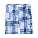 Boys Short Multi Pocket Shorts in Blue
