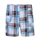 Boys Short Multi Pocket Shorts in Red