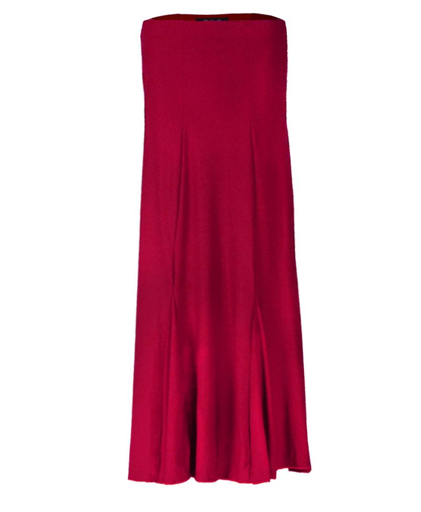 Ladies Red Skirt 60