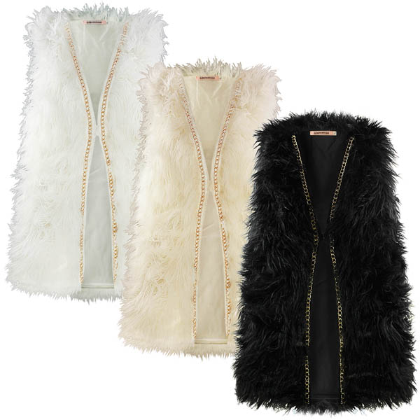 Buy Gilets from the Womens department at Debenhams. You'll find the widest range of Gilets products online and delivered to your door. Shop today! Menu Dark tan reversible suedette faux fur gilet Save. Was £ Then £ Now £ > Mela London Black faux fur gilet Save. Was £ Now £ Maine New England.