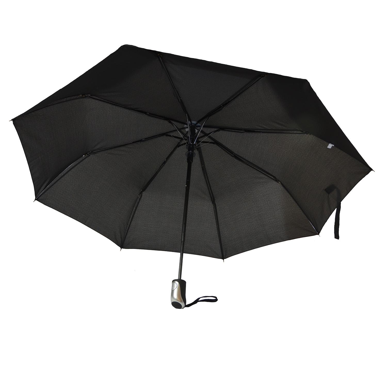 Unisexe Compact Automatique Open Travel Umbrella bouton poussoir Pliable Imperméable