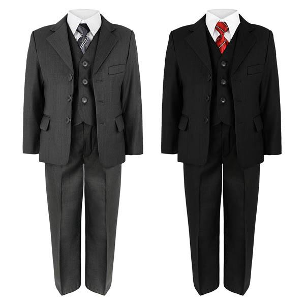 jungen jacke hosen hemd weste krawatte 5 st ck anzug hochzeit party 6mth ebay. Black Bedroom Furniture Sets. Home Design Ideas