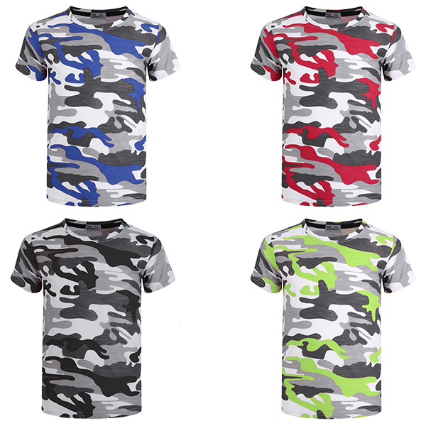 LOTMART Kids 2 Piece T-Shirt /& Shorts Set Camo Dot Print Girls Boys Top Bottoms
